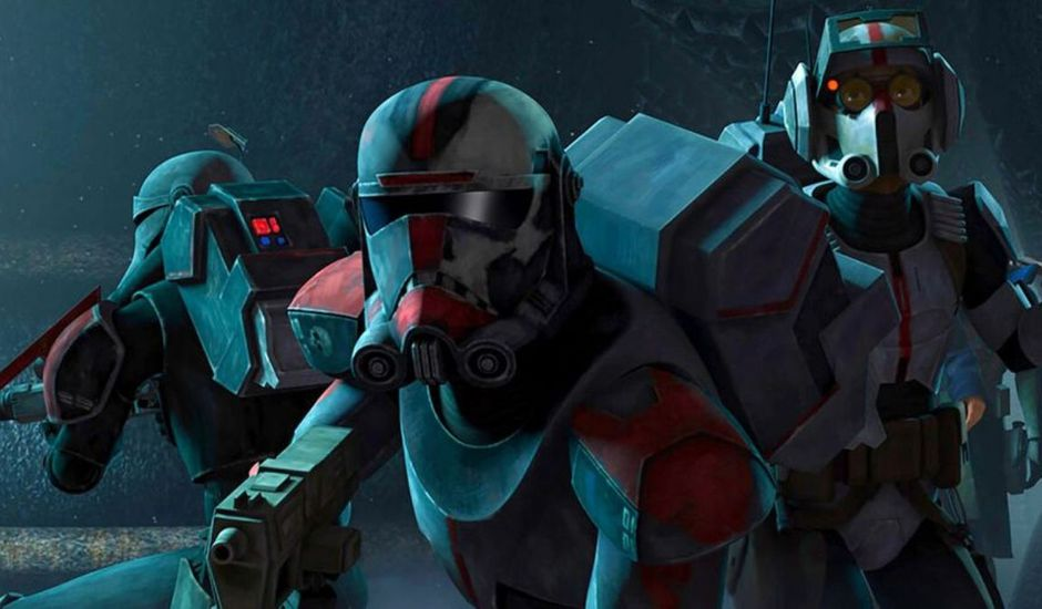 Le Bad Batch dans Star Wars : The Clone Wars