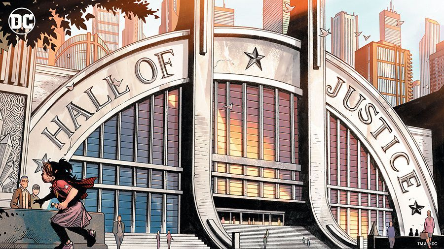 dc comics hall of justice zoom