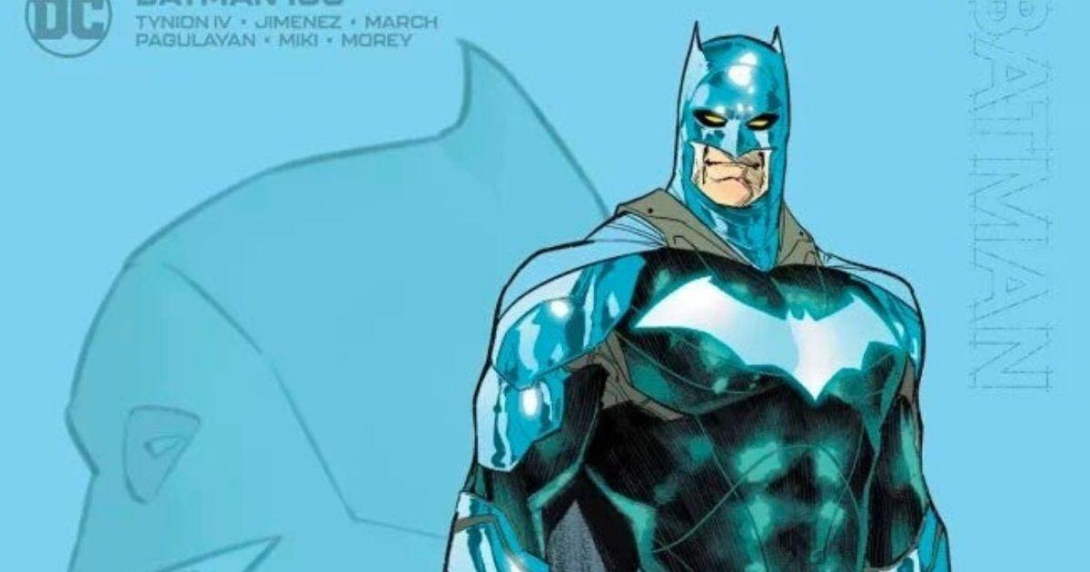 DC Comics s'exprime sur le nouveau costume de Batman !