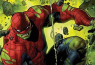 peter parker transformé par les rayon gamma de Hulk