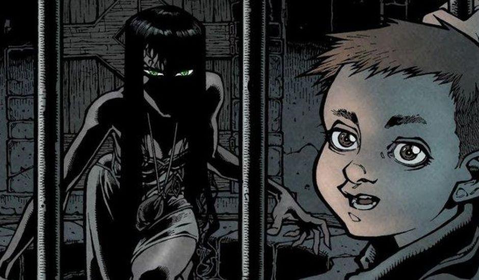 Extrait du comics Locke & Key