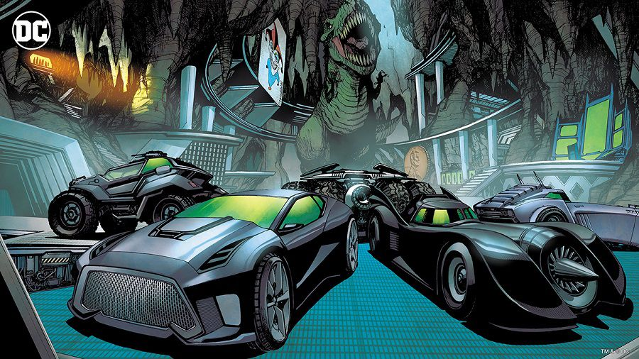 dc comics batcave zoom fonds virtuels