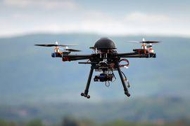 drone foule