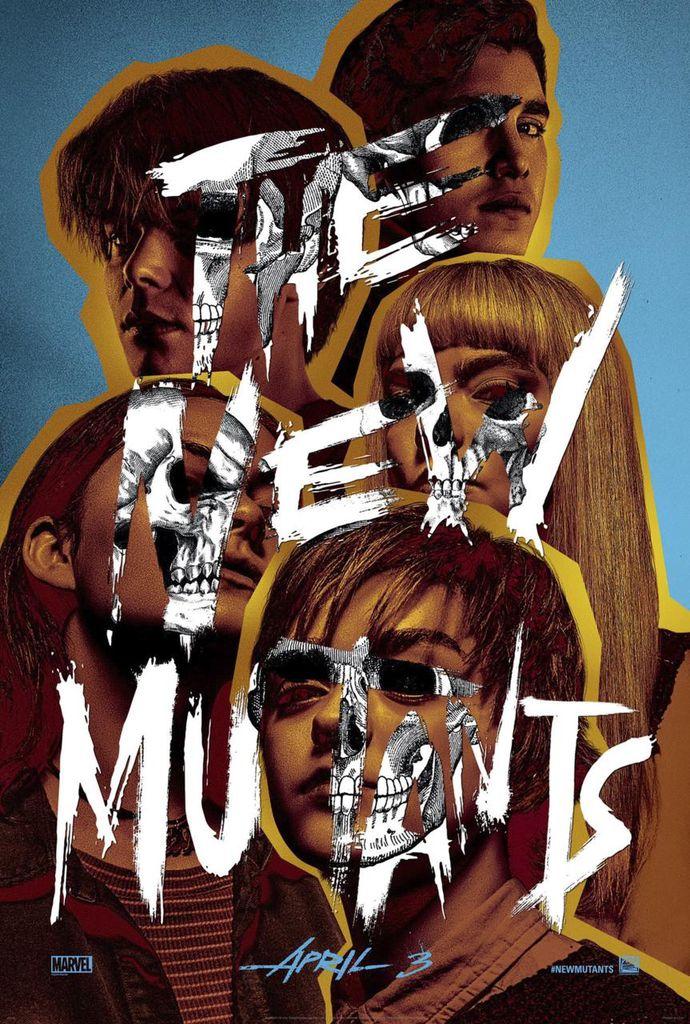 les nouveaux mutants poster marvel x-men