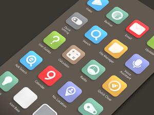 icônes-flat-iphone