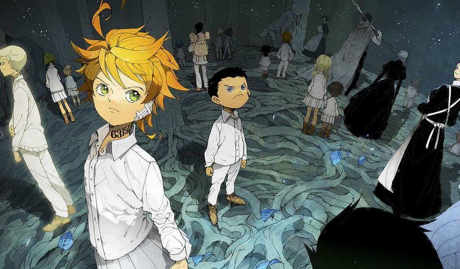 Extrait du manga The Promised Neverland