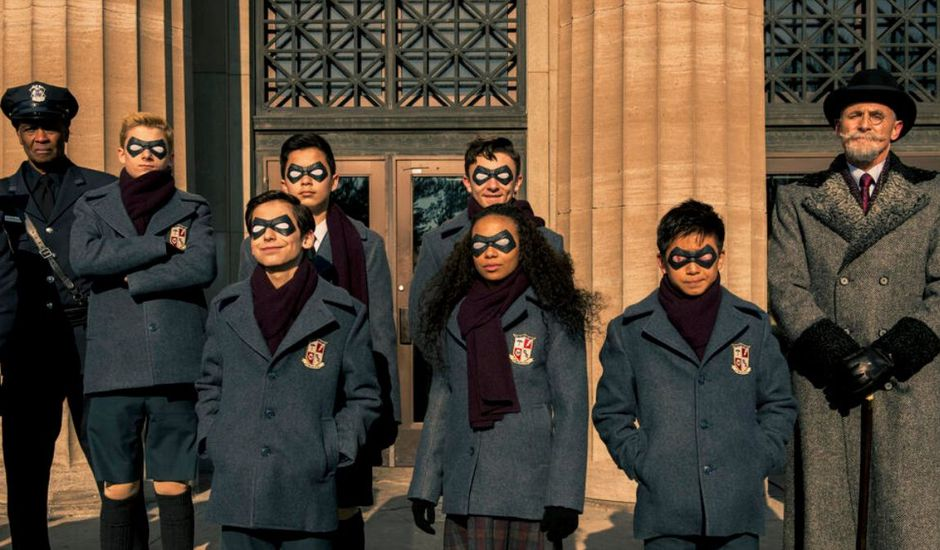 Personnages de The Umbrella Academy