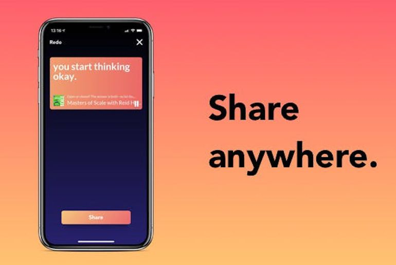Bullet l'application pour partager les podcasts