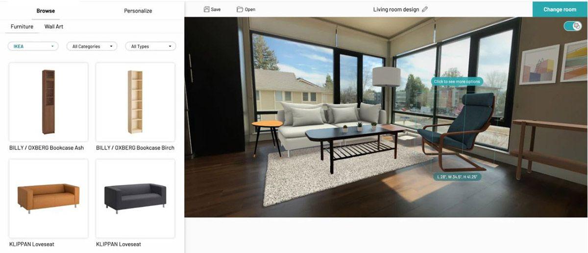 Ikea : la démonstration de la technologie de la startup Geomagical Labs