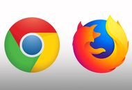 Les logos de Chrome et Firefox