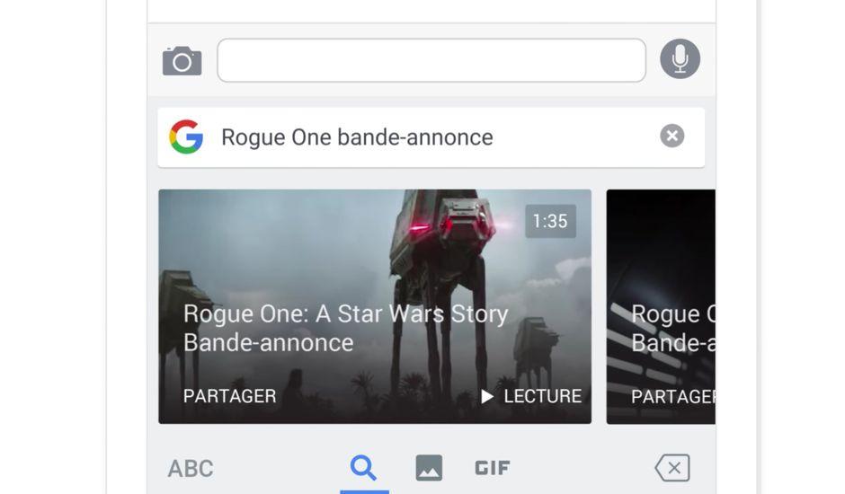 Gboard clavier Google