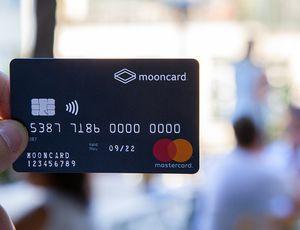 La carte de paiement Mooncard