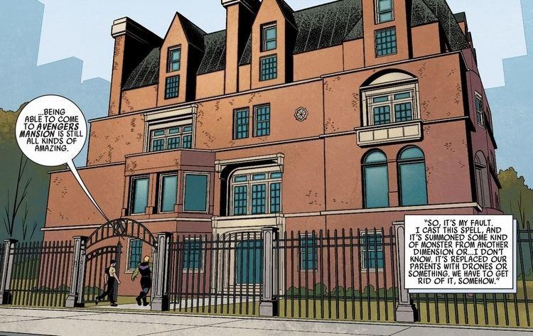 avengers mansion marvel