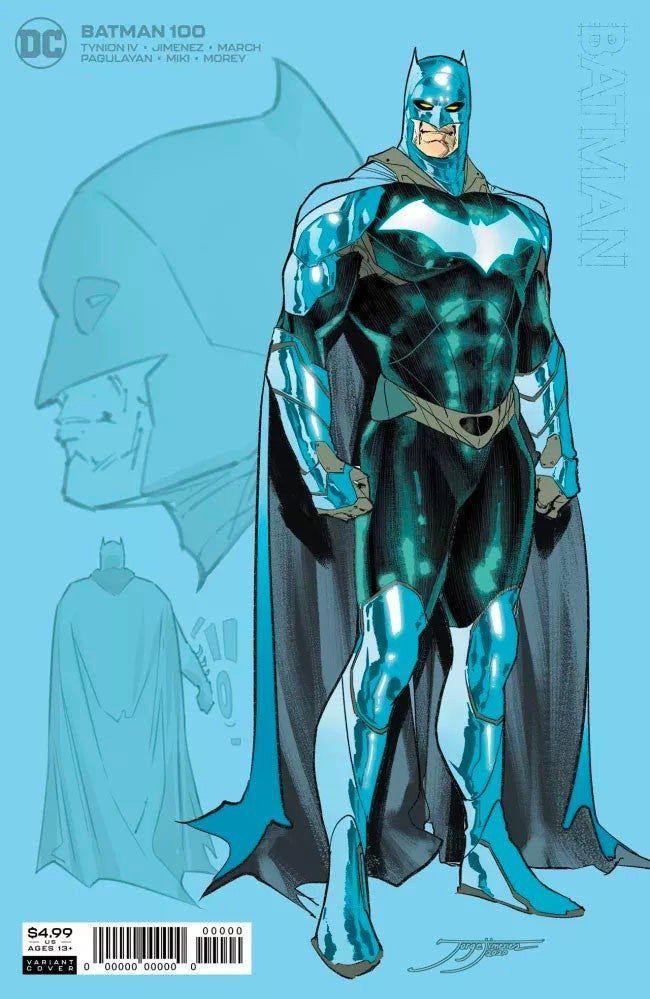 Couverture de Batman #100