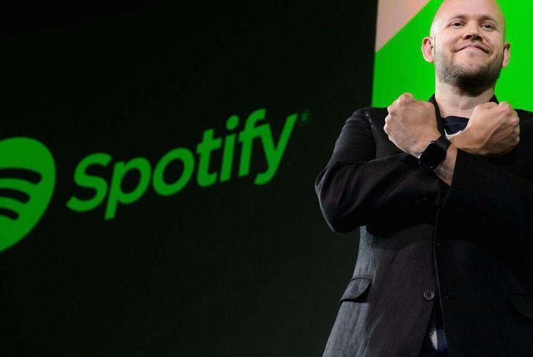 Spotify et Daniel Ek cofondateur de Spotify