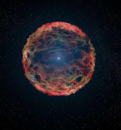 Illustration supernova