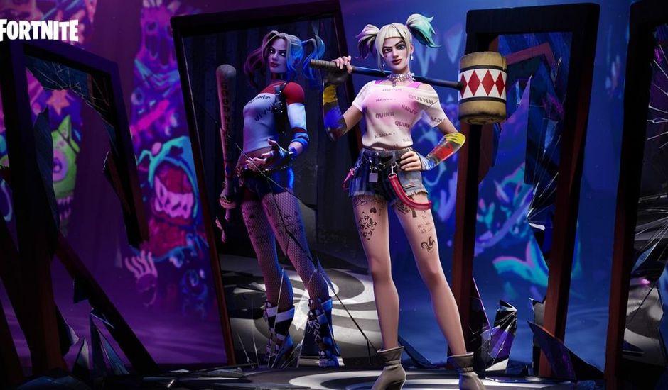 Les skins Harley Quinn dans Fortnite
