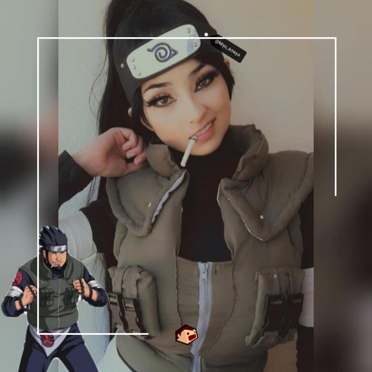 Cosplay d'Asuma dans Naruto par Miyu_Ameya