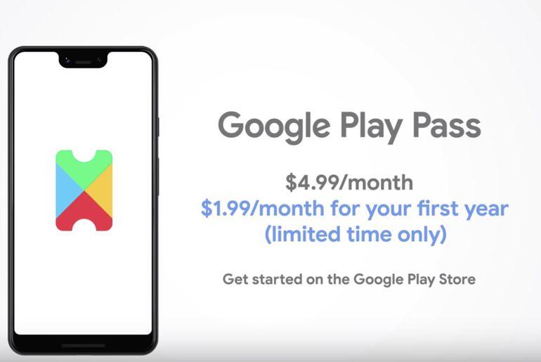 Sort le Google Play Pass pour contrer Apple Arcade — Alphabet