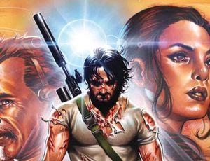 variante de la couverture du comics BRZRKR
