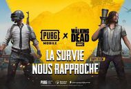 crossover the walking dead et pubg mobile