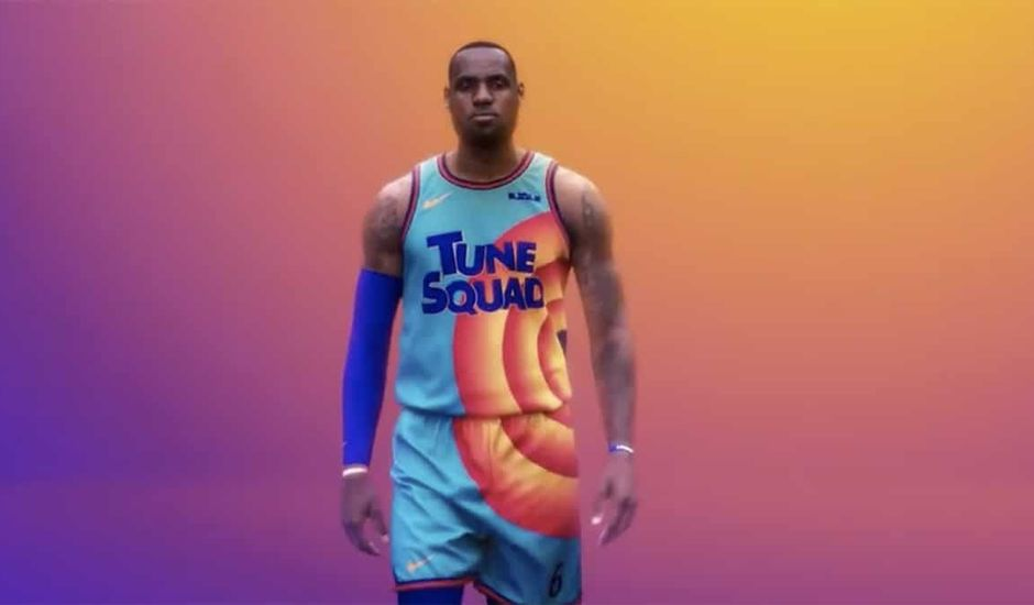 LeBron James dans Space Jam 2