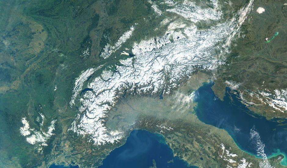 L'Europe est balayé par le réchauffement climatique.