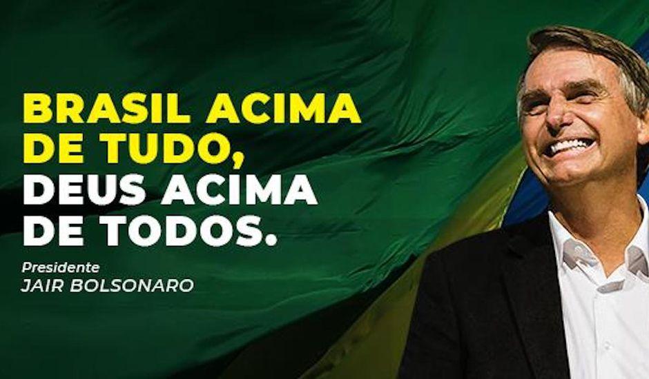 Facebook supprime les contenus de Bolsonaro.