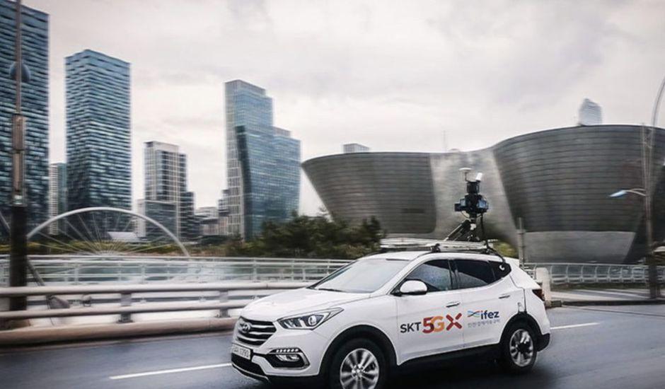 Des GPS connectés à la 5G : c'est ce que souhaite SK Telecom pour promouvoir un GPS le plus précis possible.