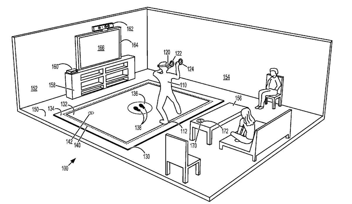 Microsoft a déposé un brevet de tapis vibrant