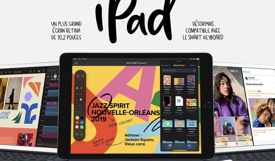 L'iPad septième génération d'Apple