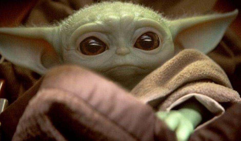 Bébé Yoda, ou l'Enfant, dans The Mandalorian