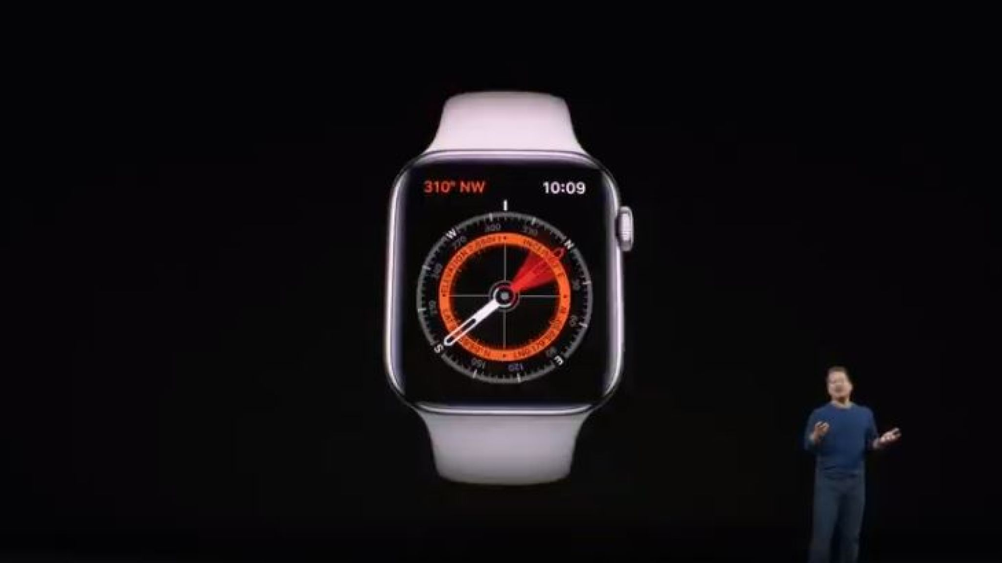 Apple Watch Series 5 boussole intégrée