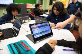 La technologie de Google Classroom vient appuyer les enseignants dans leur travail.
