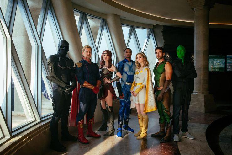 les Sept, super-héros dans la série The Boys