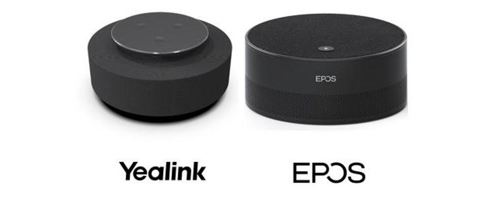 les deux appareils intelligent speakers présentés par Microsoft