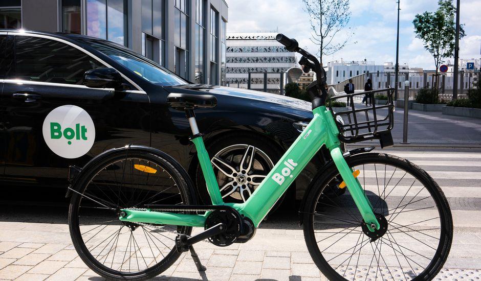 Aperçu d'un vélo électrique de Bolt.