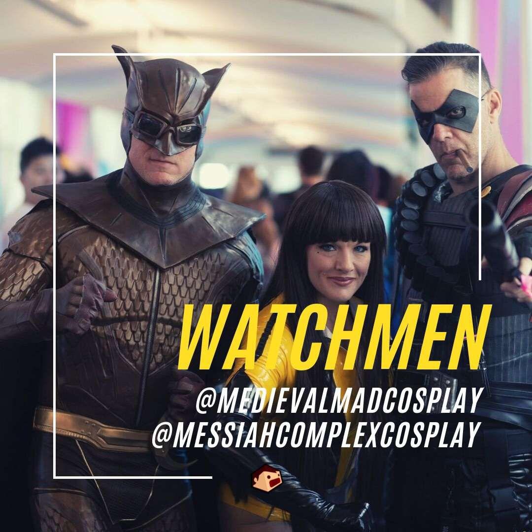 watchmen cosplays