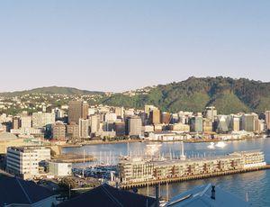 Wellington, capitale de la Nouvelle Zélande