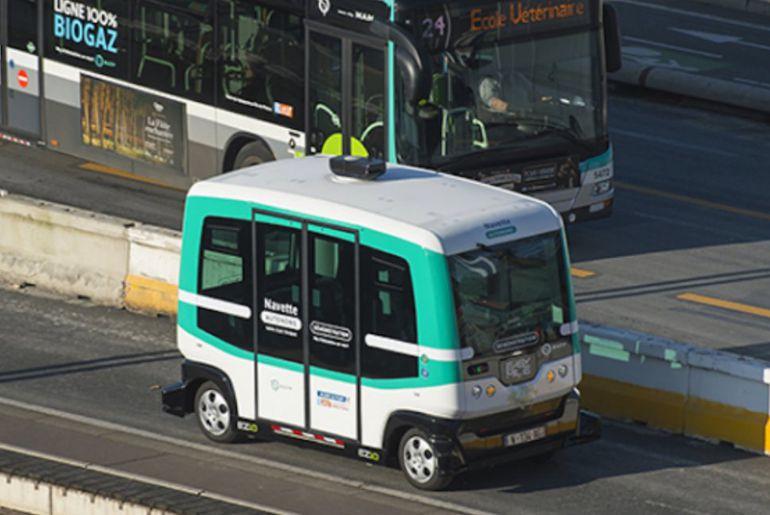 Navya fournira les bus autonomes à la RATP