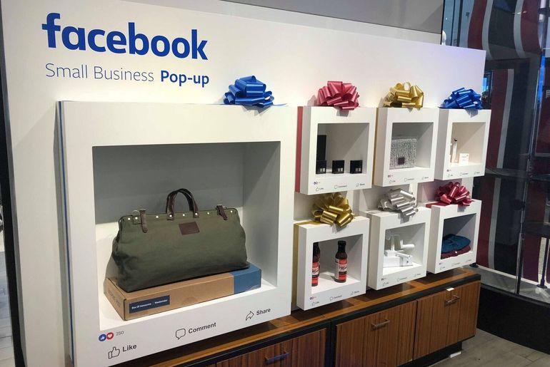 Facebook fait un pas de plus dans le commerce physique avec l'ouverture de pop-up stores chez Macy's