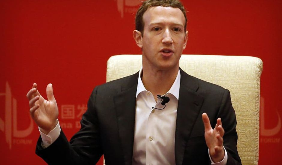 Facebook Chine filiale