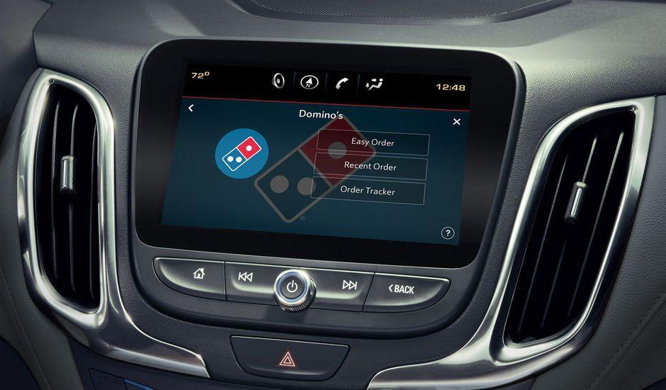 Grâce à Domino's Pizza, il est désormais possible de prendre commande en quelques instants depuis sa voiture