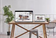 Le dispositif Zoom for Home posé sur un bureau.