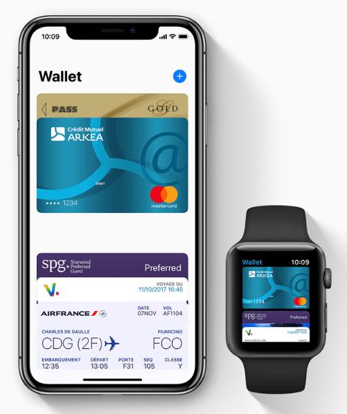 Apple Pay sur iPhone et iWatch