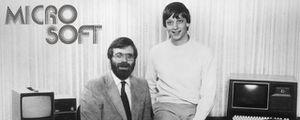 P. Allen (à g.) et B. Gates
