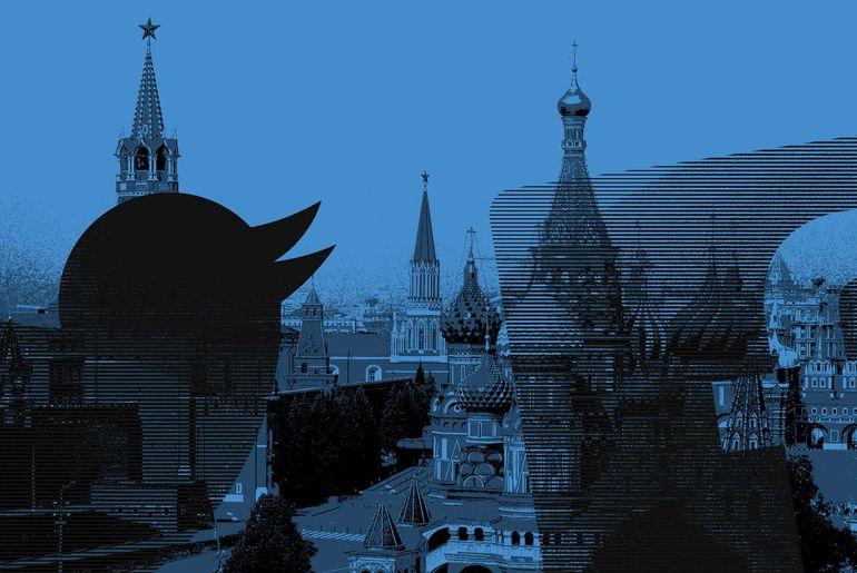 Facebook Twitter Russie