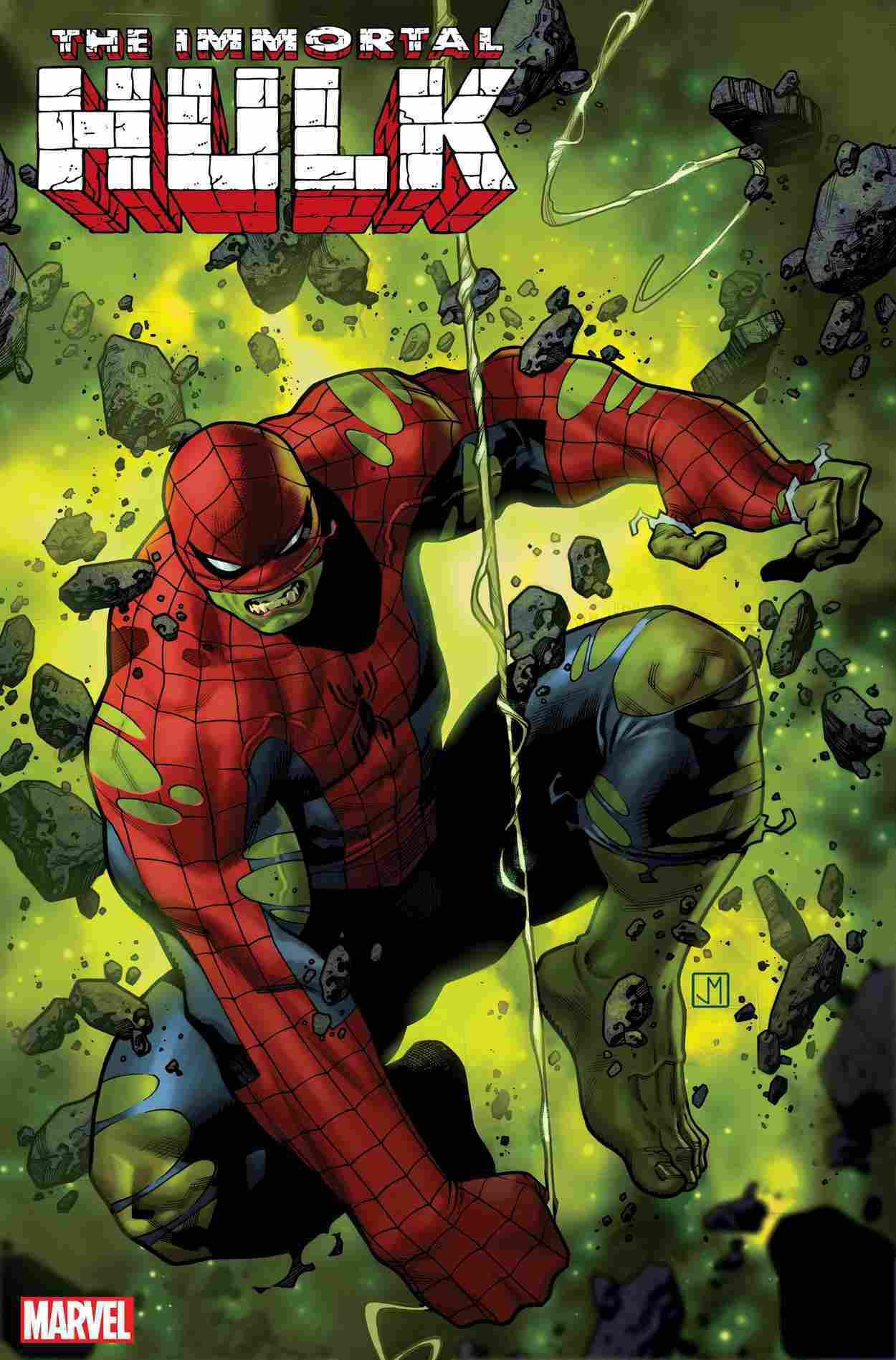 peter parker devient spider-hulk