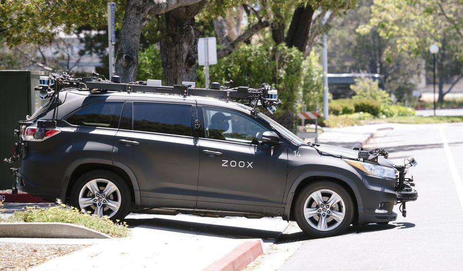 Aperçu d'un véhicule Zoox