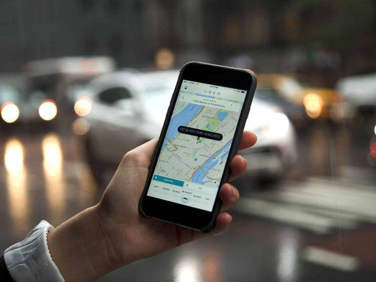 Uber application sécurité